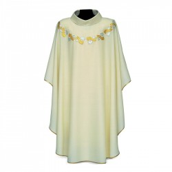 Gothic Chasuble 7374 - Cream