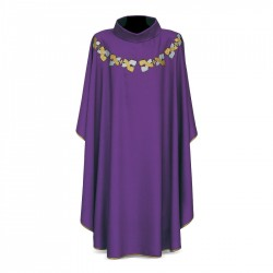 Gothic Chasuble 7376 - Purple