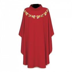 Gothic Chasuble 7377 - Red