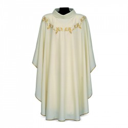 Gothic Chasuble 7378 - Cream