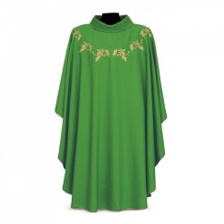 Gothic Chasuble 7379 - Green