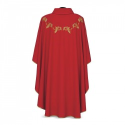 Gothic Chasuble 7381 - Red