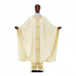 Gothic Chasuble 7387 - Cream