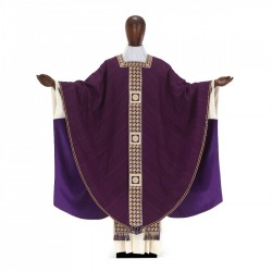 Gothic Chasuble 7389 - Purple