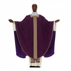 Gothic Chasuble 7393 - Purple