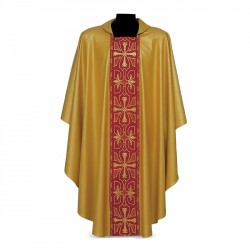 Gothic Chasuble 7395 - Gold