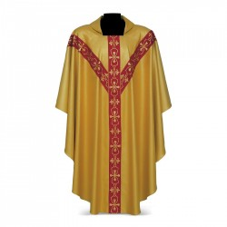 Gothic Chasuble 7396 - Gold