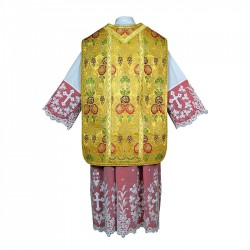 Roman Chasuble 7400 - Gold
