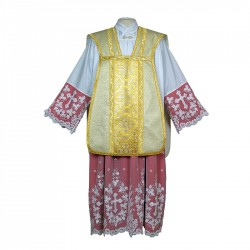 Roman Chasuble 7401- Cream