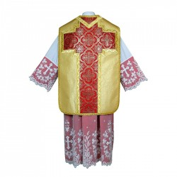 Roman Chasuble 7402 - Gold