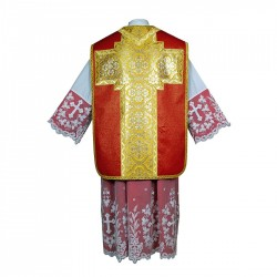 Roman Chasuble 7404 - Red