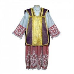 Roman Chasuble 7405 - Purple