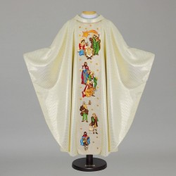 Gothic Chasuble - 7435 - Cream
