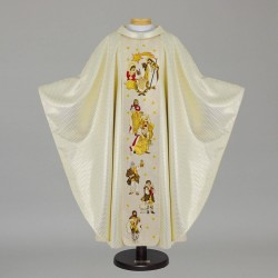 Gothic Chasuble 7436 - Cream