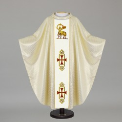 Gothic Chasuble 7439 - Cream