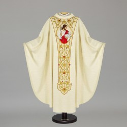 Gothic Chasuble - 7442 - Cream