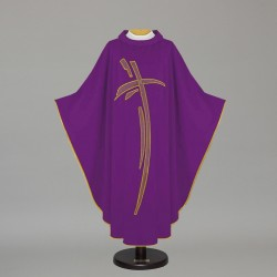 Gothic Chasuble 7447 - Purple