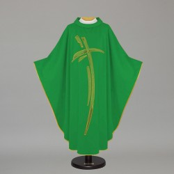 Gothic Chasuble - 7449 - Green