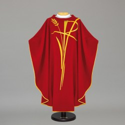 Gothic Chasuble - 7458 - Red