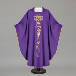 Gothic Chasuble 7460 - Purple