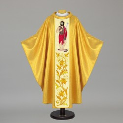 Gothic Chasuble 7472 - Gold
