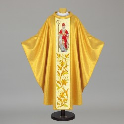Gothic Chasuble 7477 - Gold