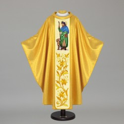 Gothic Chasuble - 7485 - Gold