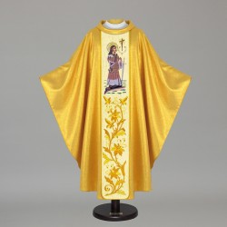 Gothic Chasuble 7486 - Gold