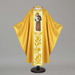 Gothic Chasuble - 7487 - Gold