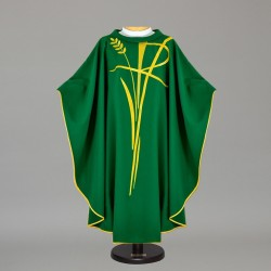 Gothic Chasuble - 7503 - Green