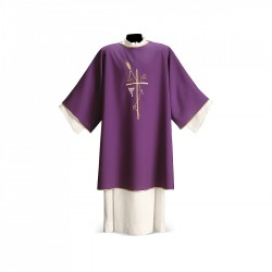 Dalmatic 7505 - Purple