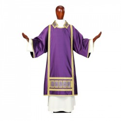 Dalmatic 7508 - Purple