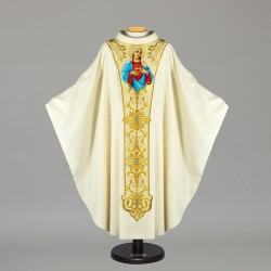 Gothic Chasuble - 7527 - Cream