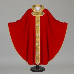 Gothic Chasuble - 7524 - Red