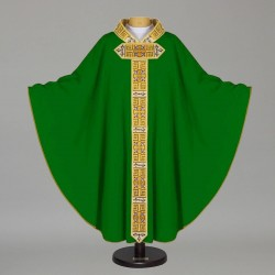Gothic Chasuble - 7523 - Green