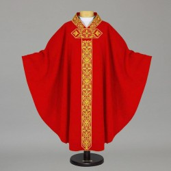 Gothic Chasuble - 7519 - Red