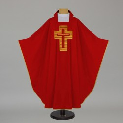 Gothic Chasuble -7575 - Red