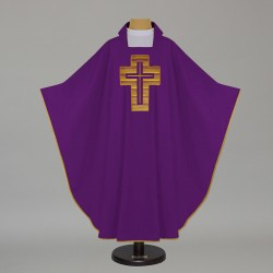 Gothic Chasuble 7576 - Purple