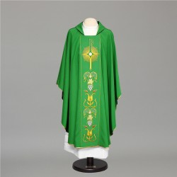 Gothic Chasuble 7601 - Green