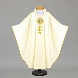 Gothic Chasuble - 7678 - White