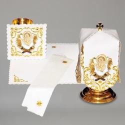 Chalice Linen Set with Ciborium Veil 7973  - 1