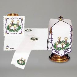 Chalice Linen Set with Ciborium Veil 7984  - 1