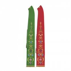Gothic Stole 8030 - Green