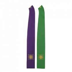 Gothic Stole 8038 - Green