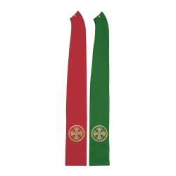Gothic Stole 8041 - Green