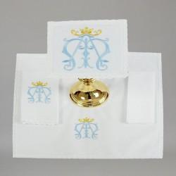 Embroidered Altar Linen set 7641  - 1