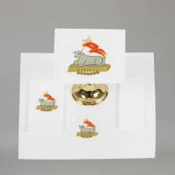 Embroidered Altar Linen set 7643  - 1
