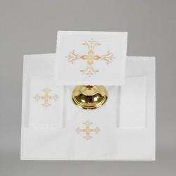 Embroidered Altar Linen set 7654  - 2
