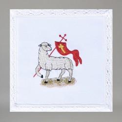 Embroidered Altar Linen set 7667  - 1