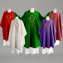 Gothic Chasuble 8281 - Red